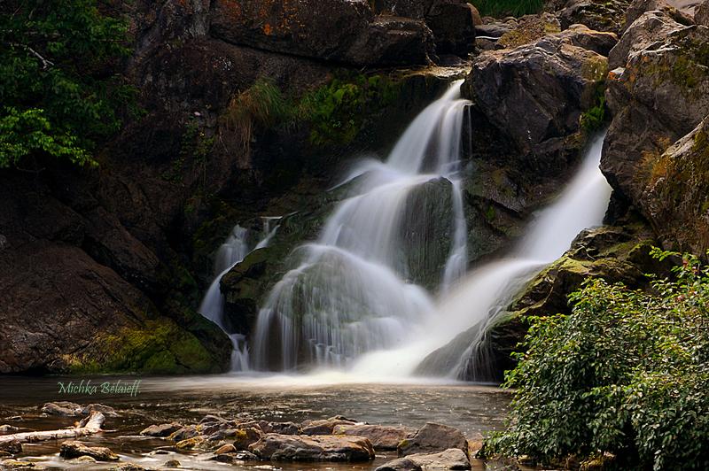 Cascades d'eau…