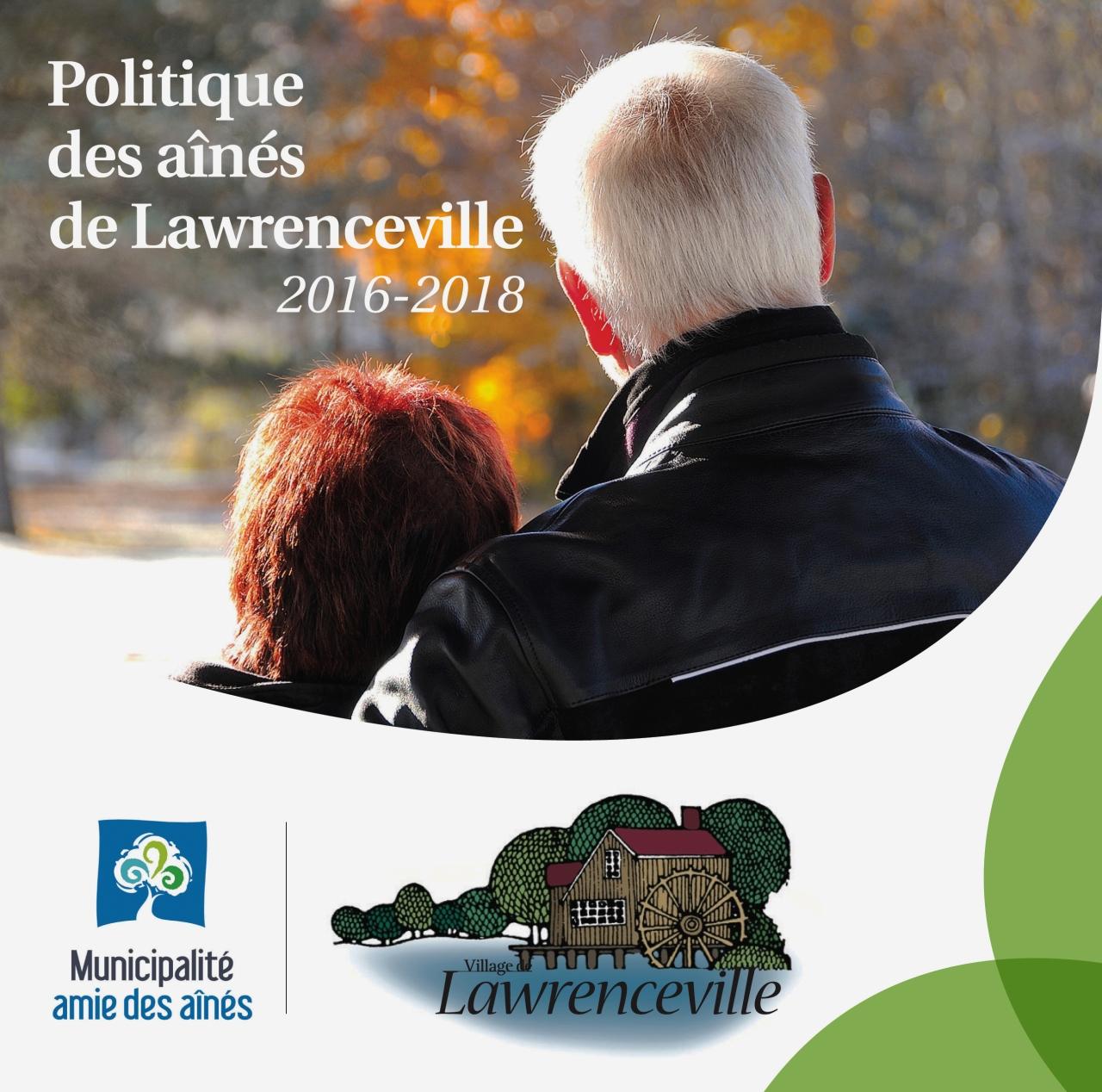 La politique des aînés du village de Lawrenceville 2016-2018 Elder program ofLawrenceville.